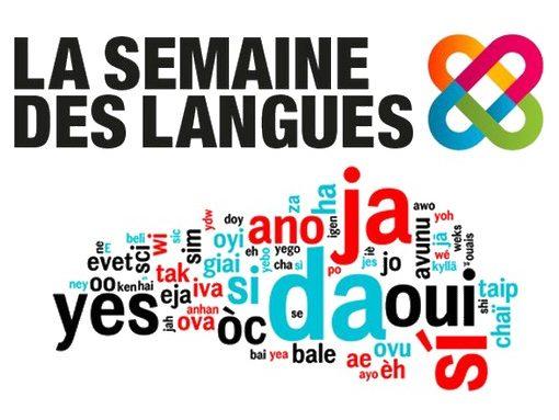 Du 14 au 19 mai, partageons les langues !